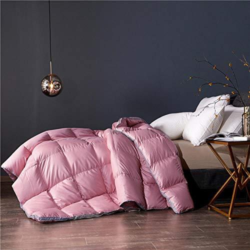 CHOU DAN Summer duvet double bed climate control single duvet 4.5 Tog summer duvet single bed-200x230 4000g_Bean Paste