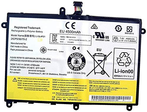 7XINbox L13M4P21 L13L4P21 7.4V 34Wh 4700mAh Repuesto Batería para Lenovo Yoga 2 11 20428/20332 11.6'