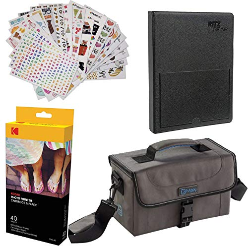 Kodak Dock Paper Cartridge Bundle + Deluxe Case + 4x6