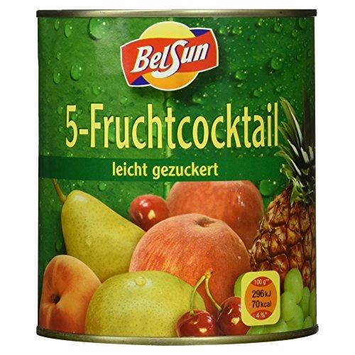 Belsun 5-Fruchtcocktail, 820 g