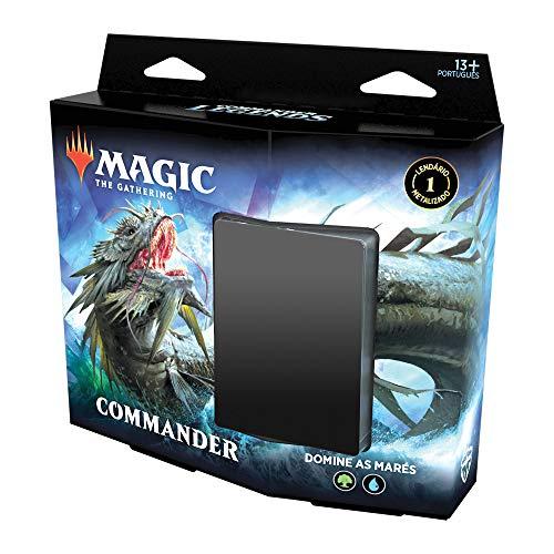 Magic The Gathering - Commander Legends   Commander Deck Reap the Tides   100 cards   Acessórios   Produto em Inglês