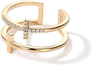 cross ring double finger