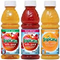 Tropicana 100% Juice 3-flavor Classic Variety Pack, 10 Ounce Bottles, 24 Count by Qtg Products Sortable