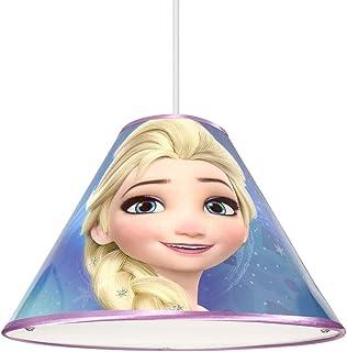 Frozen Lamparas Hogar de techo Unisex Infantil, Multicolor