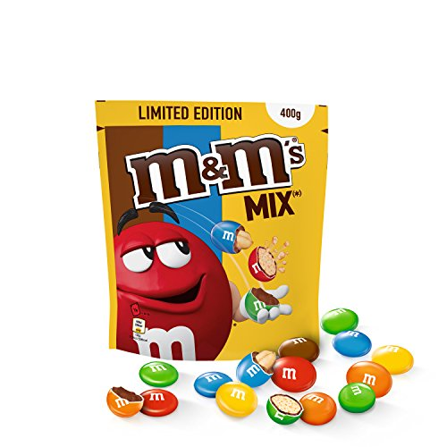 M&M's MIX (CRISPY, CHOCO, PEANUT) - Pochon de 400g