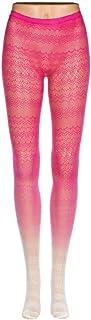 TIGERROSA Strapsstrümpfe Für Damen Mode Mädchen Damen 1 Stück Dünne Lolita Spitze Fischnetz Farbverlauf Strumpfhosen Grüne Rose Rot Undurchsichtig Nahtlose Sexy Seidenstrumpfhose