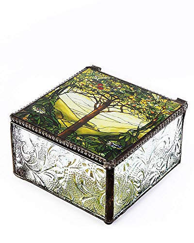 Tiffany Tree of Life Trinket Box
