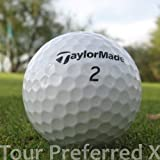 Easy Lakeballs 50 Taylor Made Tour Preferred X Pelotas DE Golf RECUPERADAS/Lake Balls - Calidad AAAA/AAA (Pearl/A Grade) - EN Bolsa DE Red