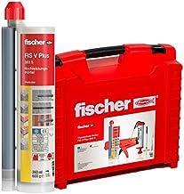 fischer Krachtige mortel FIS V Plus 360 S in handige thermosafe koffer, 6 patronen 360 ml (incl. accessoires), weerbestend...