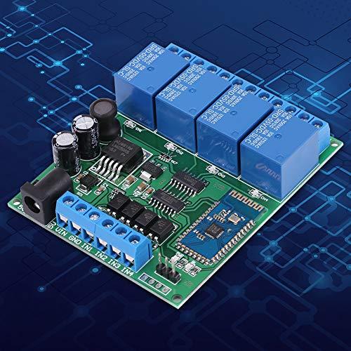 Relé, entradas de pulso bajo Práctico módulo de relé de enclavamiento de bloqueo automático duradero, conveniente para componentes electrónicos de taller