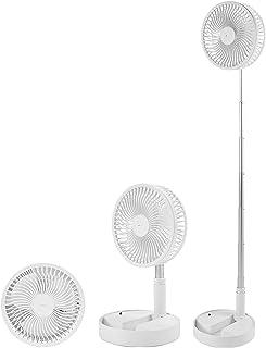 مروحة كهربائية قابلة للطي قابلة للسحب، مروحة يو إس بي بإضاءة ليلية لترطيب الهواء، مروحة صامتة من نوع البطارية المنزلية، أب...