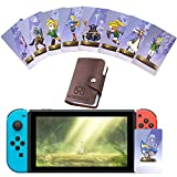 25PCS Zld Series Cards, NFC Card for TLOZ: Compatible Games Skyward Sword HD, Breathe of The Wild (Large Cards)