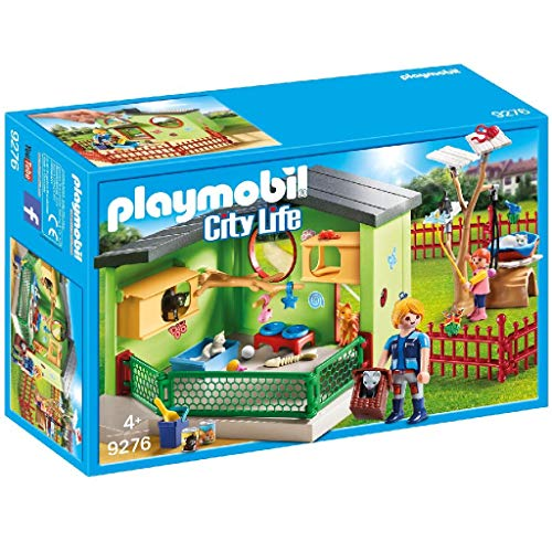 PLAYMOBIL City Life Refugio para Gatos