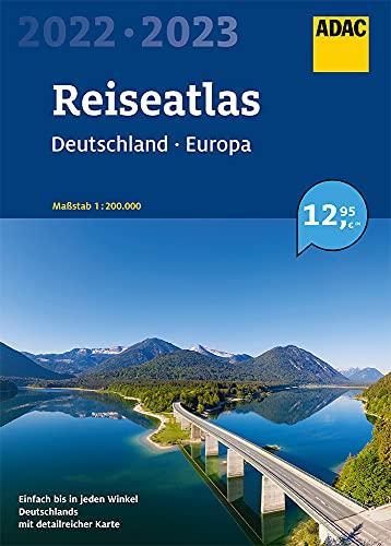 ADAC ReiseAtlas 2022/2023 Deutschland 1:200 000, Europa 1:4 500 000 (ADAC Atlanten)