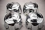 N/A 4 tapacubos de repuesto para centro de rueda + clip de retención para Montero Pajero Sport