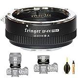 Fringer EF-FX Pro II - Adaptador de lente para cámara Canon EOS Sigma Tamron a Fujifilm XT4 XT3 XT2 XT20 XH1 X100V X-H X-T X-PRO X-E