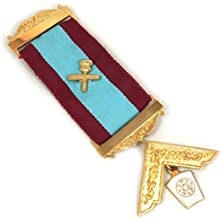 Past Installed Mark Master Mason Breast Masonic Jewel