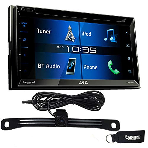 JVC KW-V330BT Double DIN Bluetooth in-Dash Media Car Stereo
