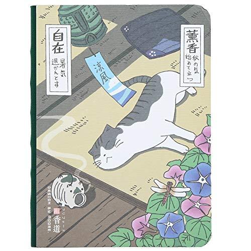Fydun Notizbuch, schöne Handmalerei Abdeckung schöne Katze Notizbuch Journal Pad Auto Typ Hand zeichnen Notizbuch zum Schreiben(#4)