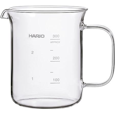HARIO(ハリオ) ビーカーサーバー クラフツサイエンス 容量300ml 日本製 BV-300
