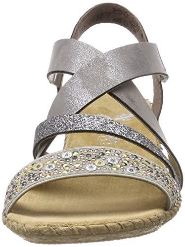 Rieker Damen Sandalette - 2