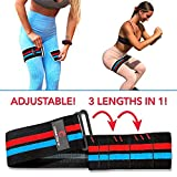 The Better Band: Glute, Squat, Booty, Unique Fabric Resistance Band, Adjustable 3-in-1, Non-Slip, Comfortable for Leg, Hip, Core, Pilates, Yoga, Therapy, Fitness & Workout