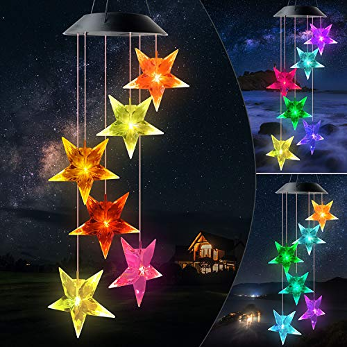 Zhe Ngshizuo Star Wind Chimes LED Interchanging