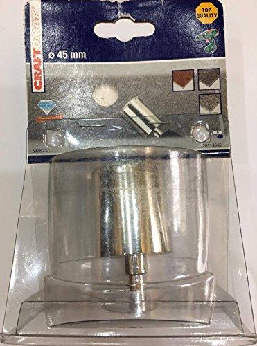 Craftomat 5928 Diamant Lochsäge für Fliesen Ø 45 mm für Akku-Schrauber