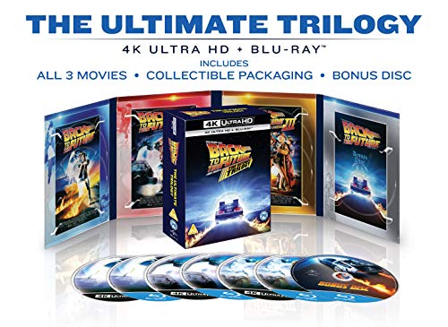 Back To The Future: The Ultimate Trilogy (4K UHD) [Blu-ray] [2020] [Region...