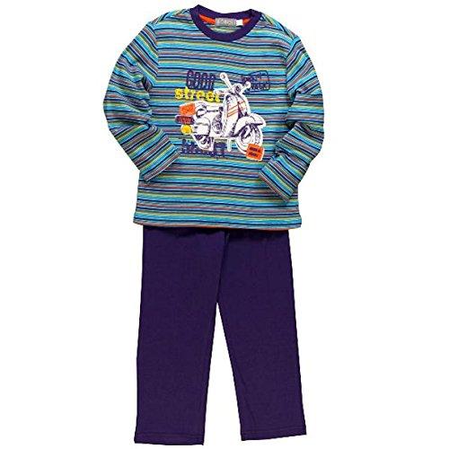 Boboli Jungen Pyjama Schlafanzug lang (938044) gestreift Gr. 140