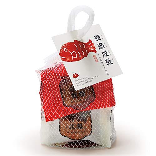 梅林堂 紅白満願成就8匹入《お菓子 和菓子 洋菓子 スイーツ マドレーヌ 焼き菓子 めで鯛 可愛い 埼玉 土産 プチギフト 個包装 引き菓子》