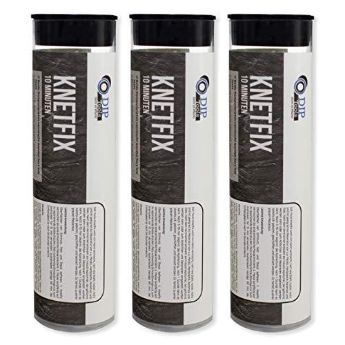 DIP-Tools Wasserdichte 2k Epoxy Hochleistungs-Klebeknete für Innen & Außen (3, 20g)