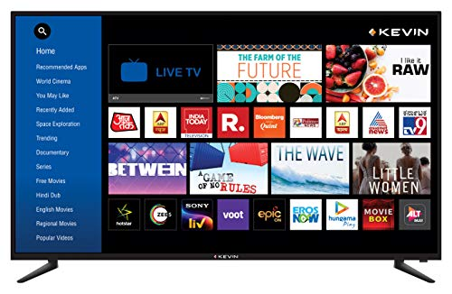 Kevin 140 cm (55 inches) 4K Ultra HD Smart LED TV...