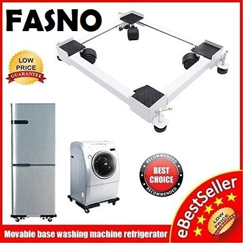 FASNO Heavy Duty Adjustable Front & Top Loading Washing...