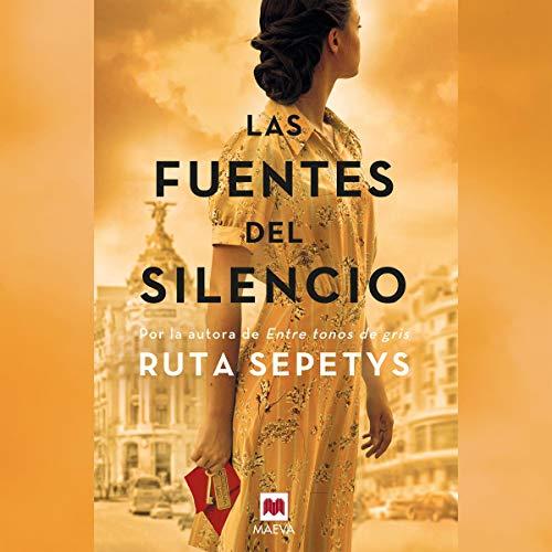 Diseño de la portada del título Las fuentes del silencio