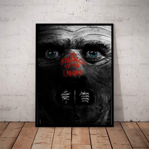 Quadro Decorativo O Silencio Dos Inocentes Hannibal Arte