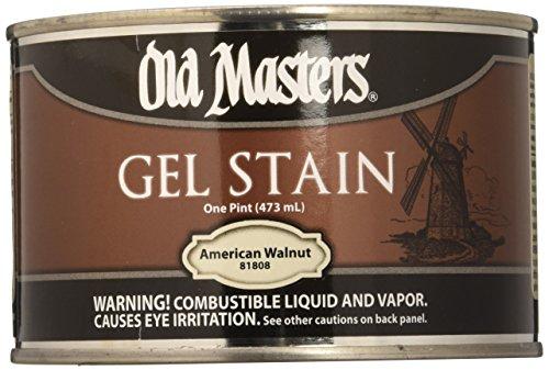 Old Masters 81808 Gel Stain Pint, American Walnut