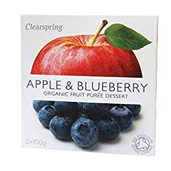 Apple & Blueberry Puree–Org Vegan Organic Known barcodes: 5021554981565, 5021554981565