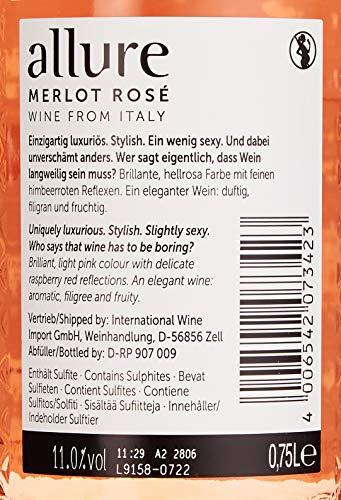 allure Merlot Rosé Halbtrocken (6 x 0.75 l) - 2