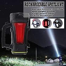 BAJIE Zaklamp 200/300 / 500W Usb Opladen Led Werklamp Zaklamp Spotlight Handlamp Camping Lantaarn Zoeklicht Voor Wandelen