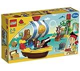 LEGO Duplo - El recipiente pirata de Jake - 10514 + Duplo - El escondite de la isla que no hay - 10513