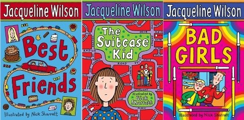 Dreams and Wishes 3 vol box set: Bad Girls, Best Friends, The Suitcase Kid