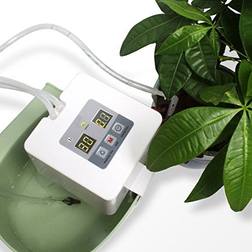 Automatic Watering System, DIY Automatic Drip Irrigation Kit Self Watering System with Timer, USB Power Operation & 30-Day Programming Vacation Plant Watering Devices for Indoor Potted Plants