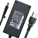 New 180W AC Charger Fit for Dell Alienware 13 14 15 17 R2 R3 R4 R5 Alienware M14X M17X R4 X51 R2 Alienware Alpha ASM100; Alienware Alpha ASM-R2 Alienware Area 51M Laptop Power Adapter Supply