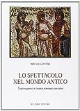 Lo spettacolo nel mondo antico. Teatro greco e teatro romano arcaico