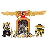 Treasure X - Battle Pack Ninja serie 6 - 2 figuras ninja exclusivas y accesorios (Famosa 700016682)
