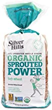Silver Hills Bakery Organic Soft Wheat Sprouted Wheat Bread, 24 Ounce -- 8 per case.