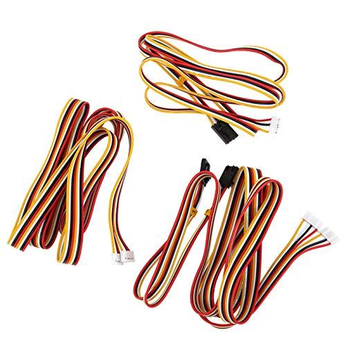 Lightweight Plastic Printer Motor Cable Motherboard Cable Printer Stepper Motor Cable Easy‑to‑use for Mini-Rambo/Einsy Rambo