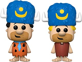 Pop! Animation Exclusive Limited Edition Fred Flintstone and Barney Rubble 2-Pack