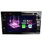 Android 10 Octa-Core 4 GB RAM + 64 GB ROM Carplay + Android Auto Autoradio DVD GPS Navigat...